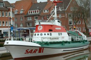 Search and Rescue Schiff der Malteser