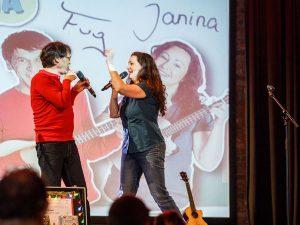 Fug unnd Janina auf der Bühne