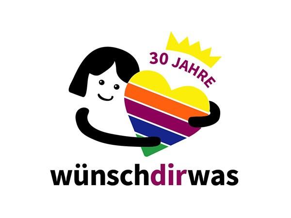 30 Jahre Wünschdirwas Logo
