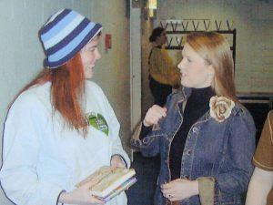 Janine mit Maite Kelly