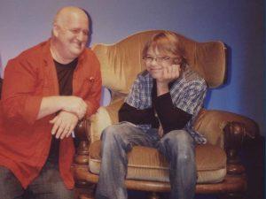 Konstantin mit Markus Maria bei Mensch Markus