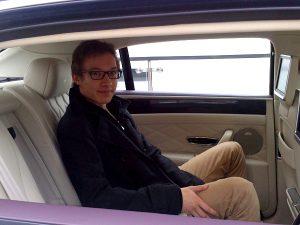 Marcel im Bentley