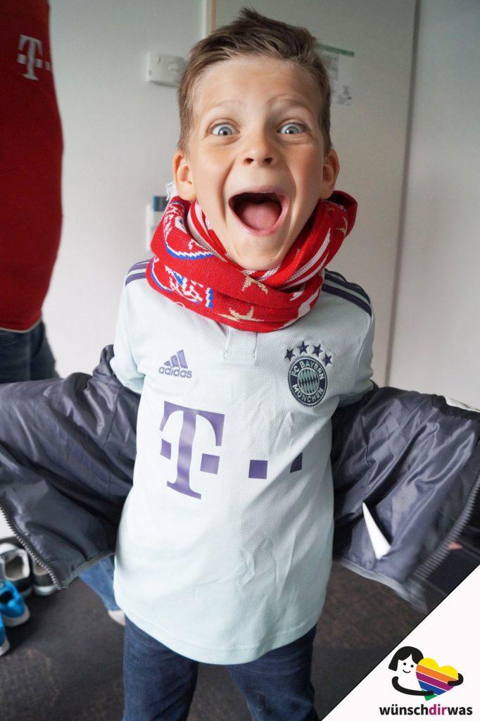 Yannic Vorfreude auf FC Bayern München
