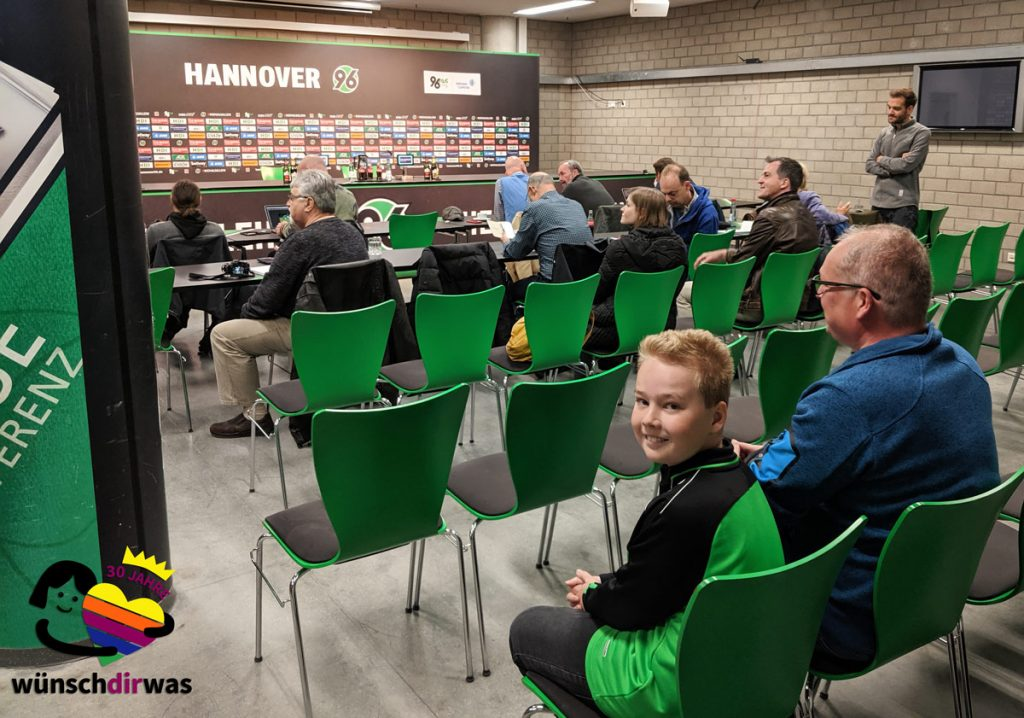 Timo bei Hannover 96 mit wünschdirwas