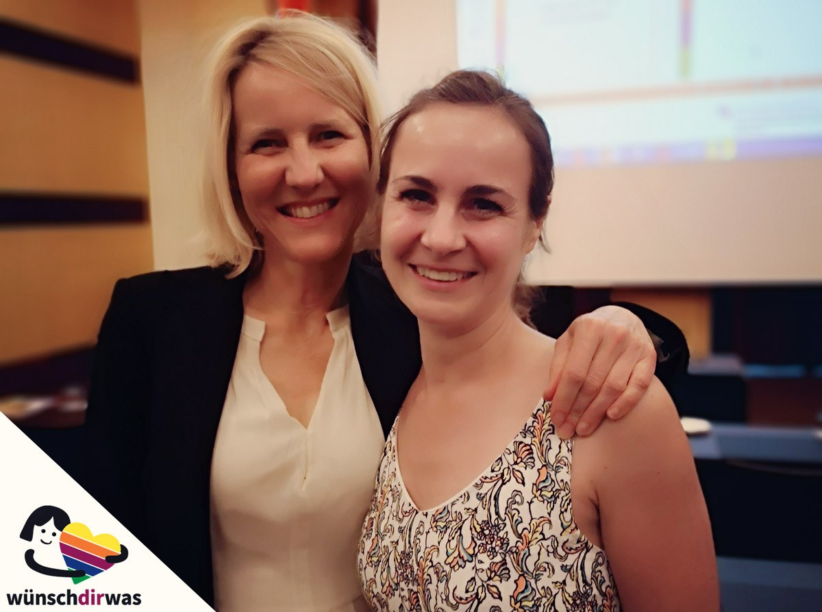 Dr. Kerstin Smid und Nina Saure