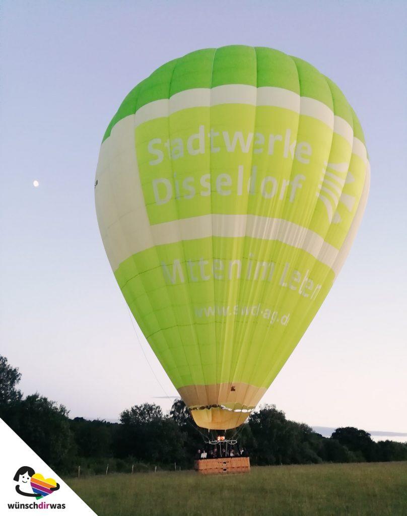 Anabel Wunschtraum: Ein Flug im Heißluftballon