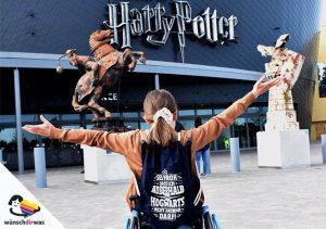 Paulas Wunscherfüllung: Harry Potter Studios