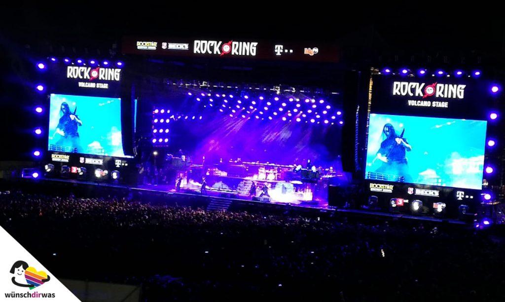 Wunscherfüllung Yannick - Rock am Ring