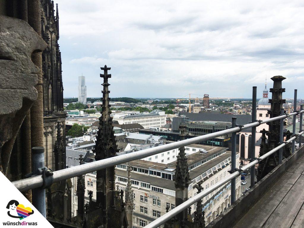 Wunscherfüllung Alexander - Blick vom Kölner Dom