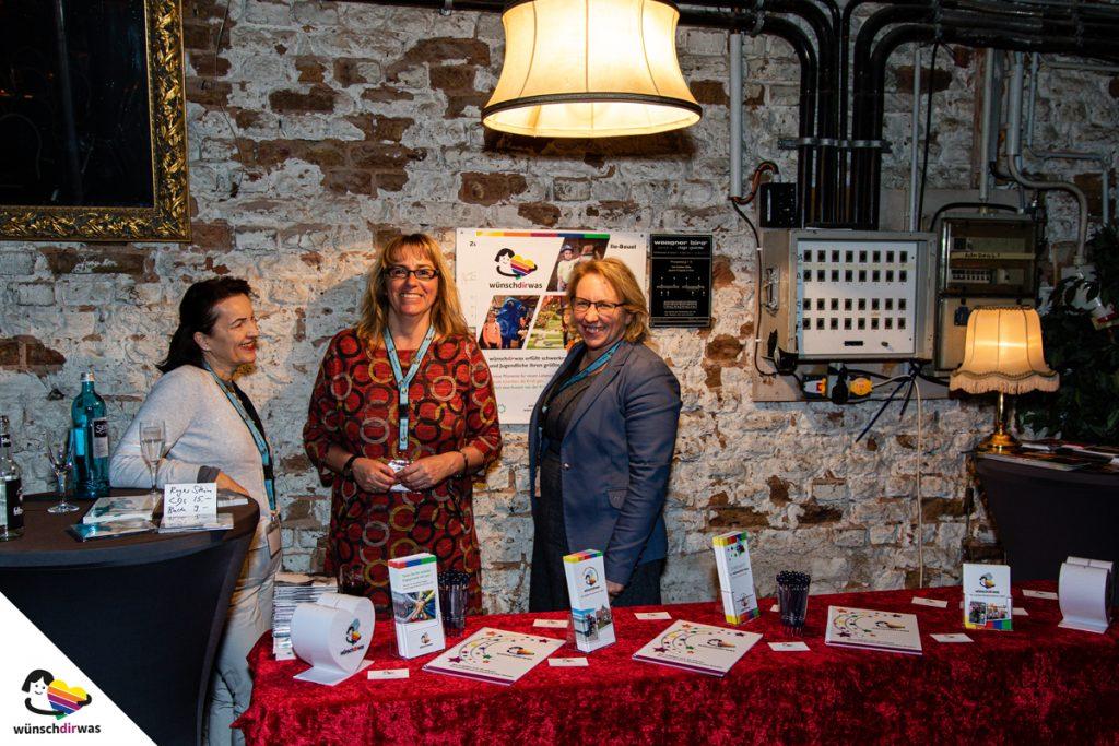 WDW-Stand mit Lida Weag, Nicole Wollgarten und Claudia Weiler