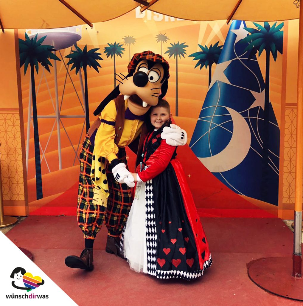 Wunscherfüllung Disneyland mit wünschdirwas