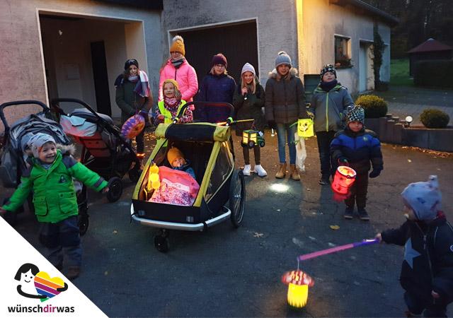Kinder sammeln Spenden für wünschdirwas