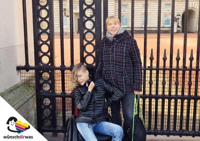Lilli in London - Wunscherfüllung mit wünschdirwas