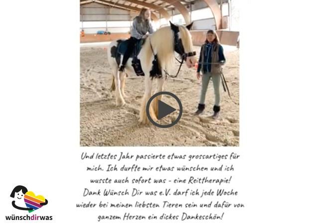 Leni Wunscherfüllung - Pferdetherapie