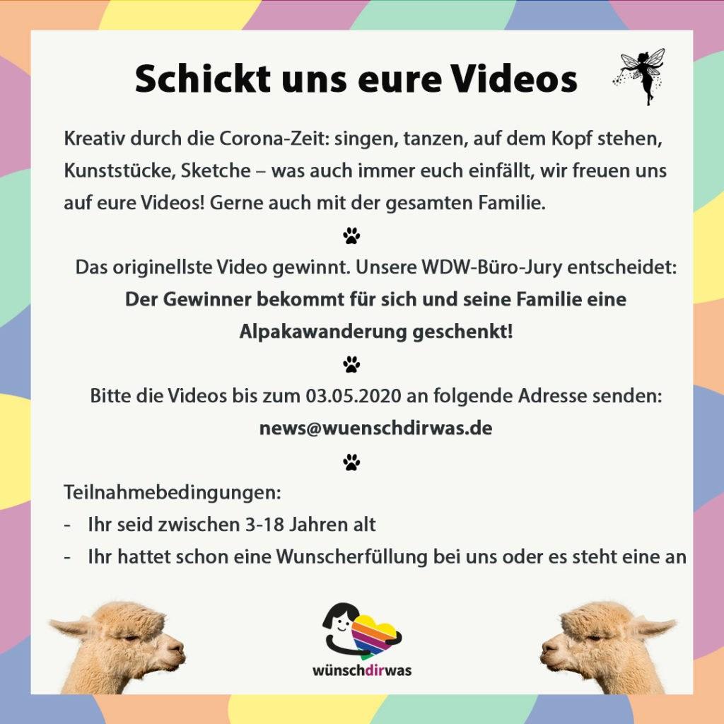 Gewinnspiel-Video-Wettbewerb