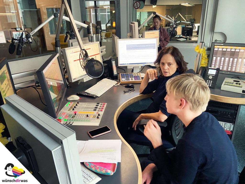 Pauls Herzenswunsch - beim hessischen Rundfunk