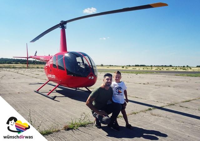Giosue Wunscherfüllung Hubschrauberflug
