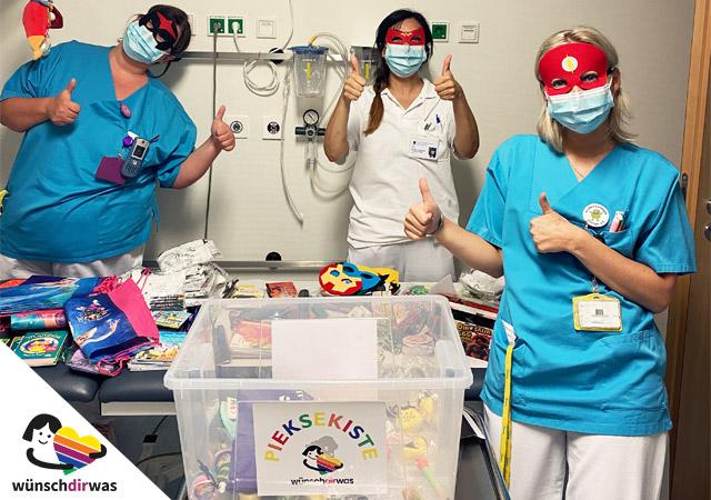 Pieksekiste Freude Klinikalltag