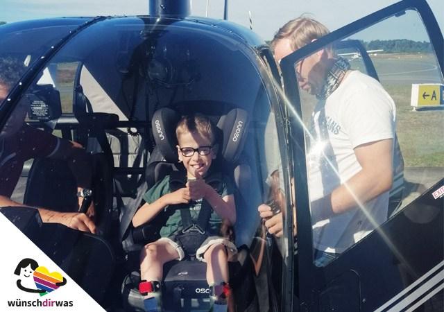 Hubschrauberflug-Julian-Wünscherfüllung