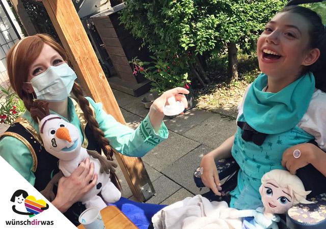 Prinzessinnenparty mit Mia und Helden für Herzen