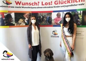 Miss Hessen sammelt Spenden für wünschdirwas