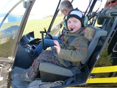 Hubschraubflug-Ihre Spende für schwerkranke Kinder